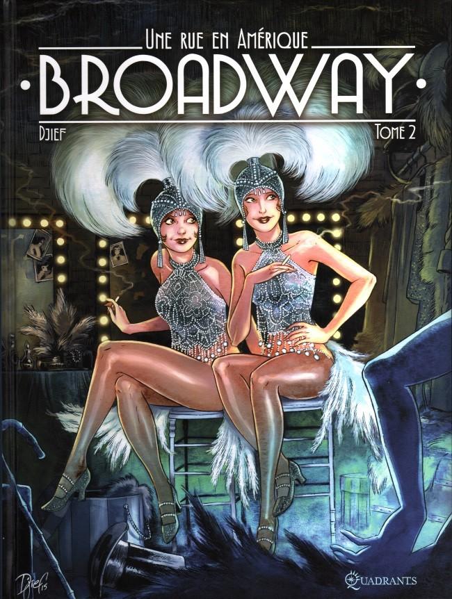 Broadway - Une rue en Amérique, une BD de Djief Couv_253182