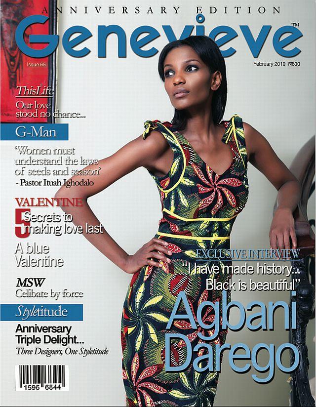 Darego - Official Thread of MISS WORLD 2001 - Agbani Darego - Nigeria Agbani-Genevieve-Magazine-February-Cover