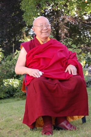 Tenga Rinpoché a quitté son corps ce matin 30 mars Tr