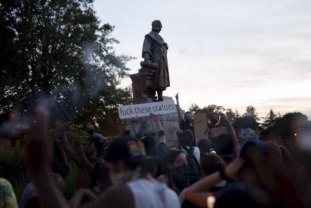 News au 20 juin 2020 Statue-colomb-1024x683