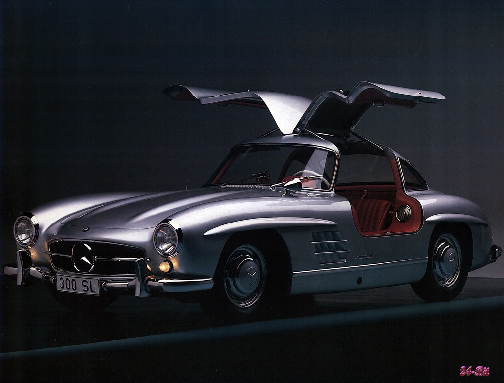 احدث انواع السيارات  Mercedes%20Gullwing%20300sl%201