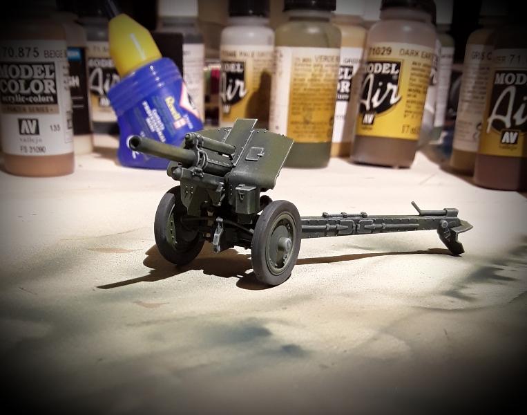 M-30 122 mm Haubitze, dieses Mal von Zvezda M-30-1