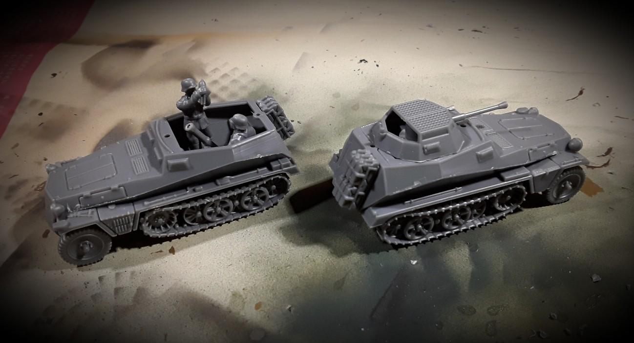 """Sd.Kfz. 250 """"Alte"""" mit Varianten von PSC  250-01"""