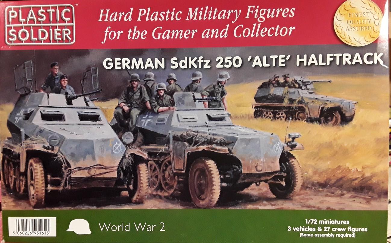 """Sd.Kfz. 250 """"Alte"""" mit Varianten von PSC  250-03"""