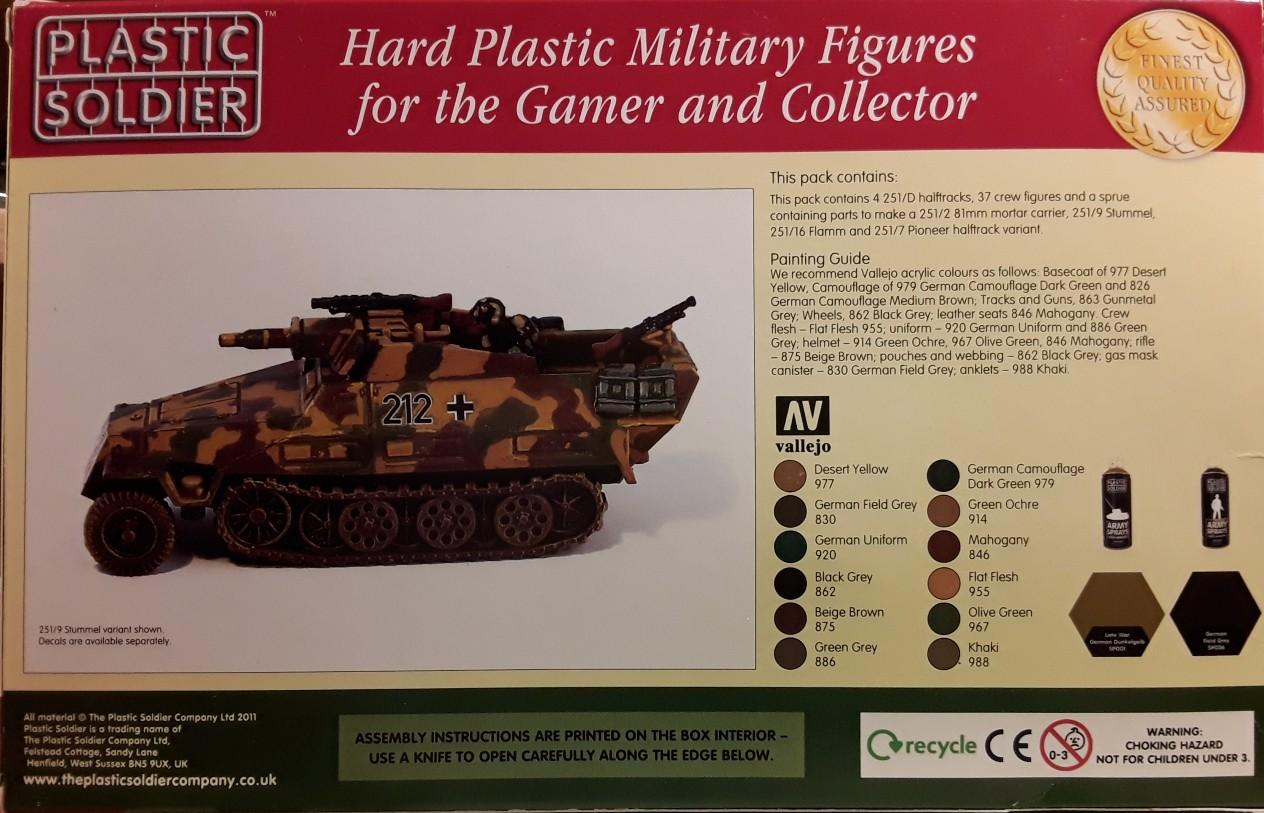 Sd.Kfz. 251 Varianten von PSC 251-02