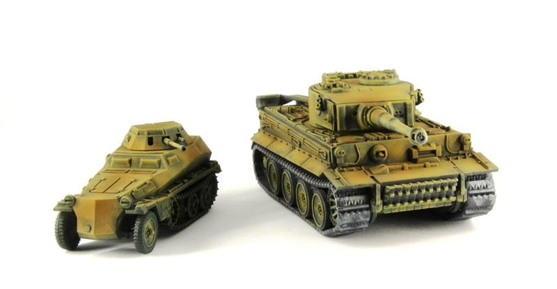 Aufbau einer deutschen Armee Vergleich1