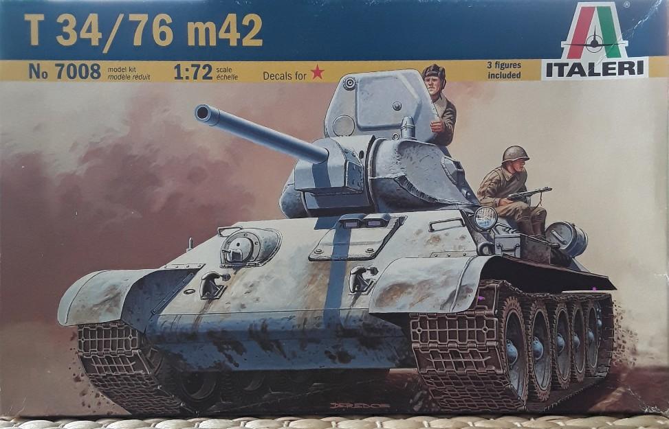 T34/76 m42 von Italeri T-34-01