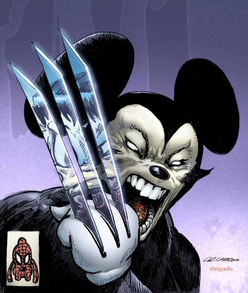 Imagens da Disney Marvel_Disney_by_Eldelgado