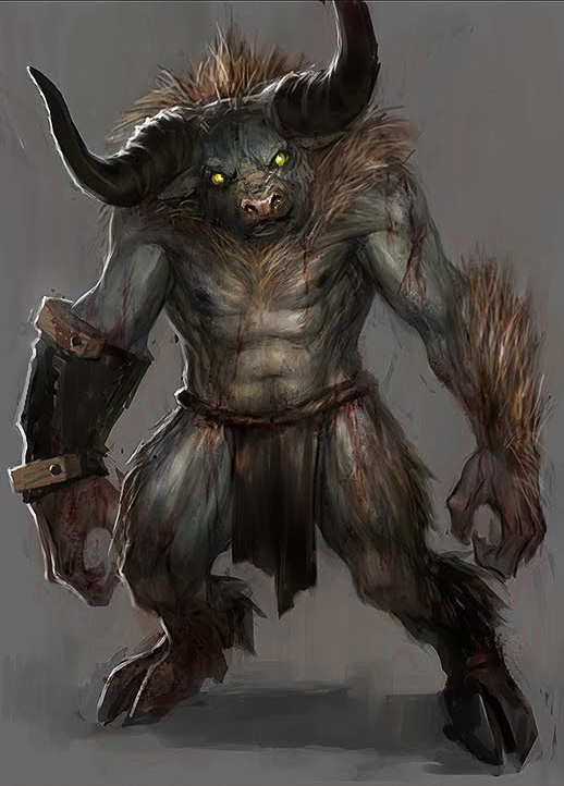 Минотавр Minotaur-tobby