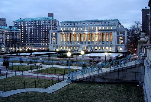 [Manhattan] Columbia University  Butler-library-columbia-university