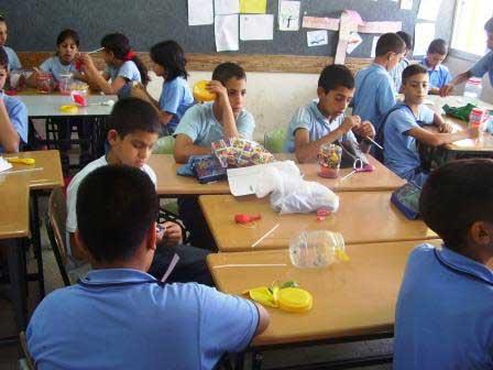 يوم العلوم في مدرسة اكسال الابتدائية أ Iksal1