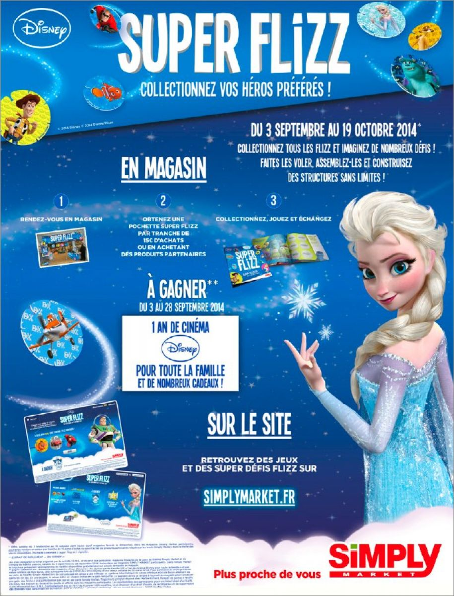 Collection Disney Super Flizz - Simply Market 5294_i1b