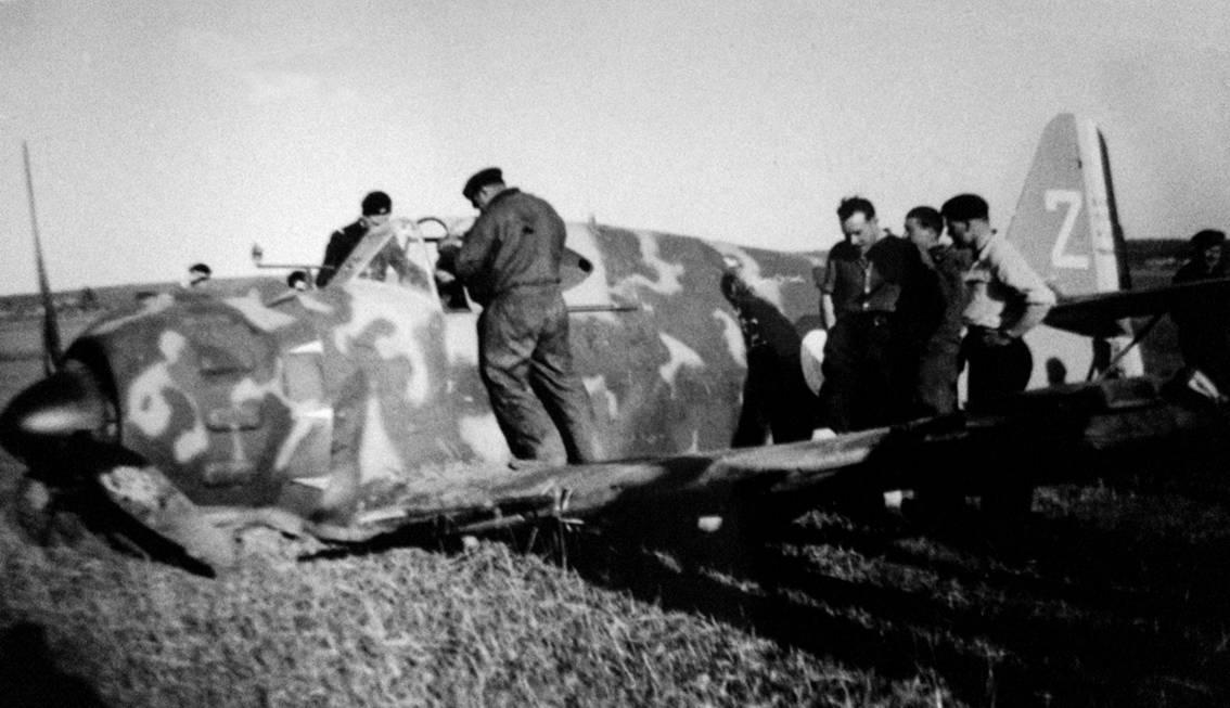 Henri CASTEL : AVIATEURS et avions abattus sur LE QUESNEL (guerre 39 - 45) Image008