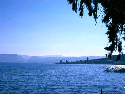 Hai biển hồ Galilee1