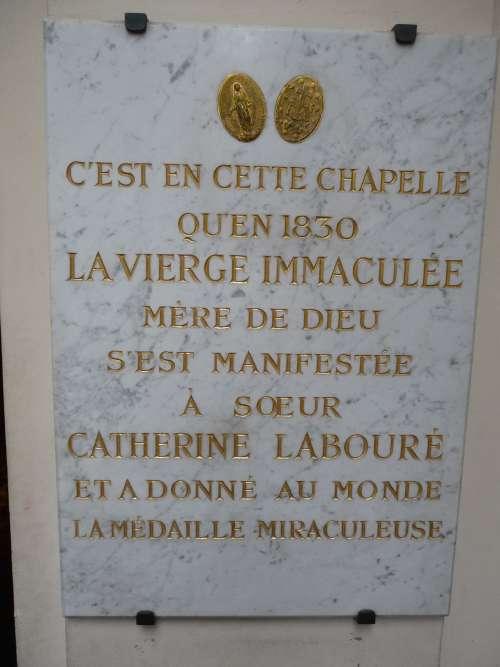 """Les """"religions"""" de Babylone la Grande. Vierge_rue_du_bac_2s"""