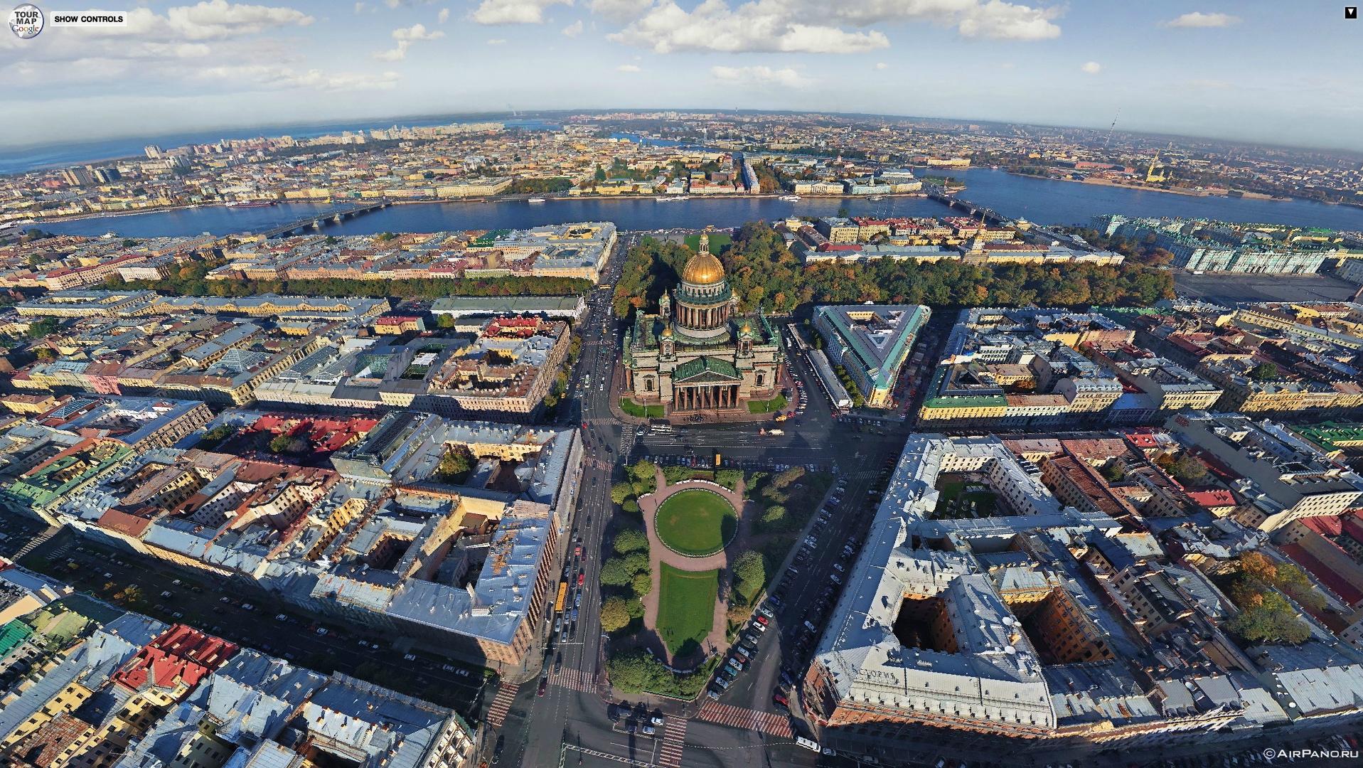 Vos plus belles photos - Page 4 Panorama_aerien_St_Petersbourg