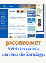 Jacobeo.net web temática camino de Santiago
