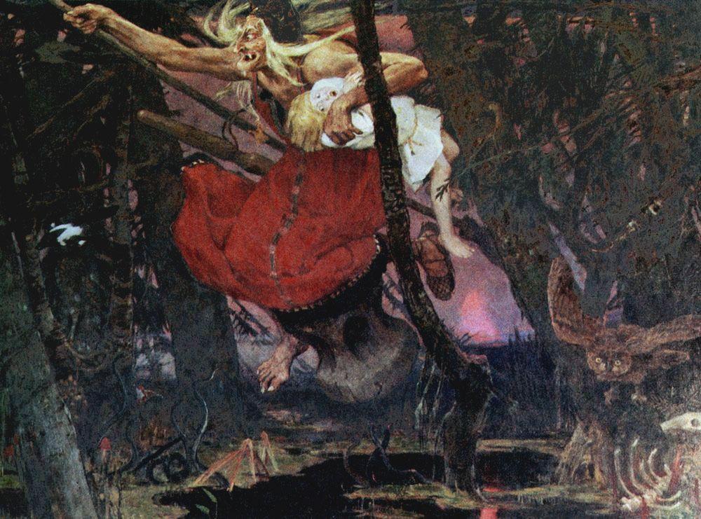 Viktor Vasnecov Vasnecov-BabaJaga