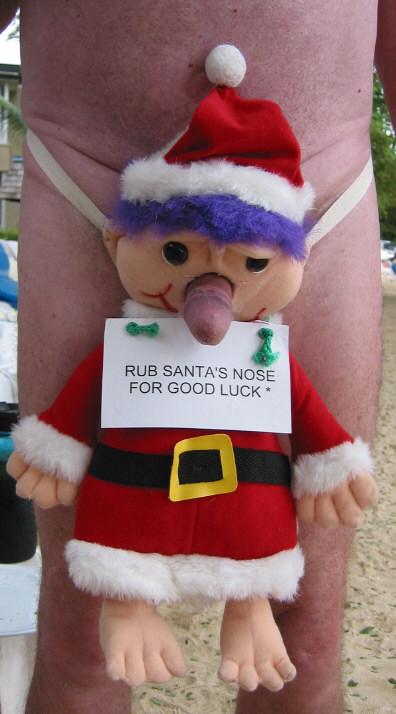 Smiješne slike Santa_nose