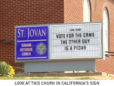 Smiješne slike Churchsign