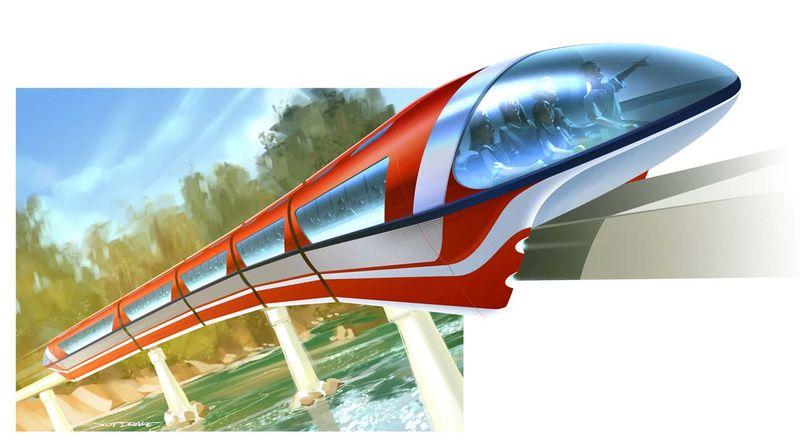[Disneyland Park] Nouveaux Monorails - Page 2 DisneylandMKVIIConcept