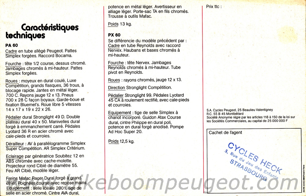 Course peugeot identification Peugeot%201976%20France%20Brochure%204%20PX60%20Page%204