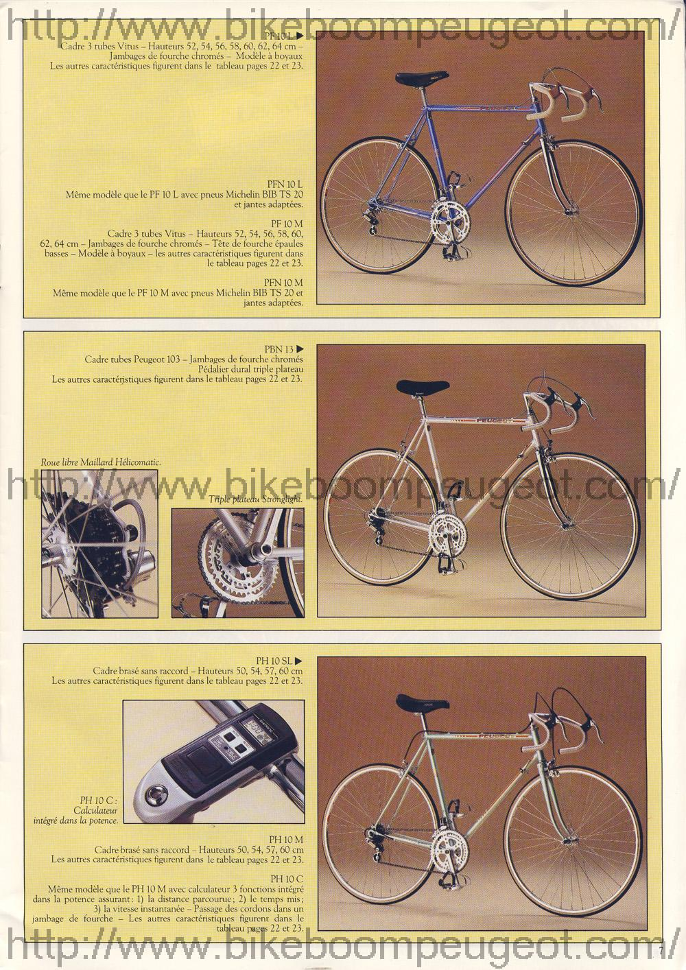 Peugeot PH10c 1983 Peugeot_1983_French_Brochure_Page7_BikeBoomPeugeot