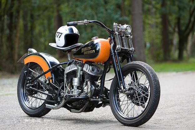 Japonaises - customisations/modifications 1948_harley_WL_heselmans