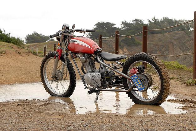 Midagi erinevat, ehk siis omapärased siklid - Page 6 Honda-sl100