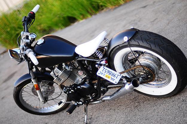 Honda 250 Rebel bobberisée Honda-rebel-2