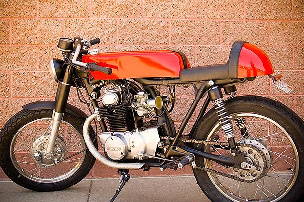 Honda CB 350 café-racer Honda-cb350-1