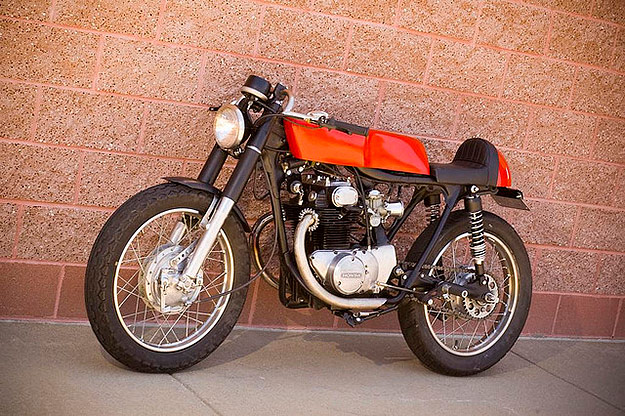 Honda CB 350 café-racer Honda-cb350