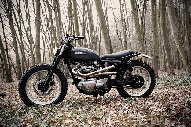 W650 Scrambler Kawasaki-w650