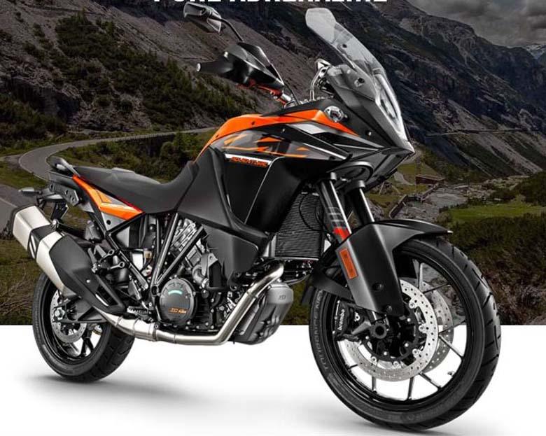 Recherche  ktm 1090 adventure 2017 et plus 2017-KTM-1090-Adventure-Bike-front-view