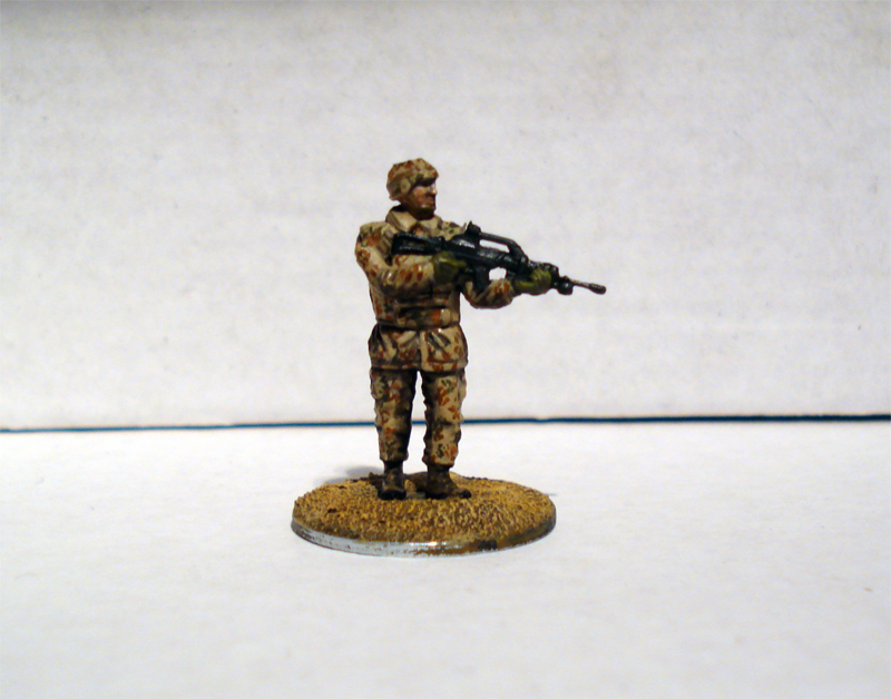 Force on Force - Deutscher Fallschirmjäger-Testminiatur Jykm-6l-9b04