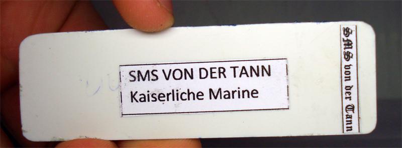 SMS von der Tann Schlachtkreuzer Jykm-b0-dc91