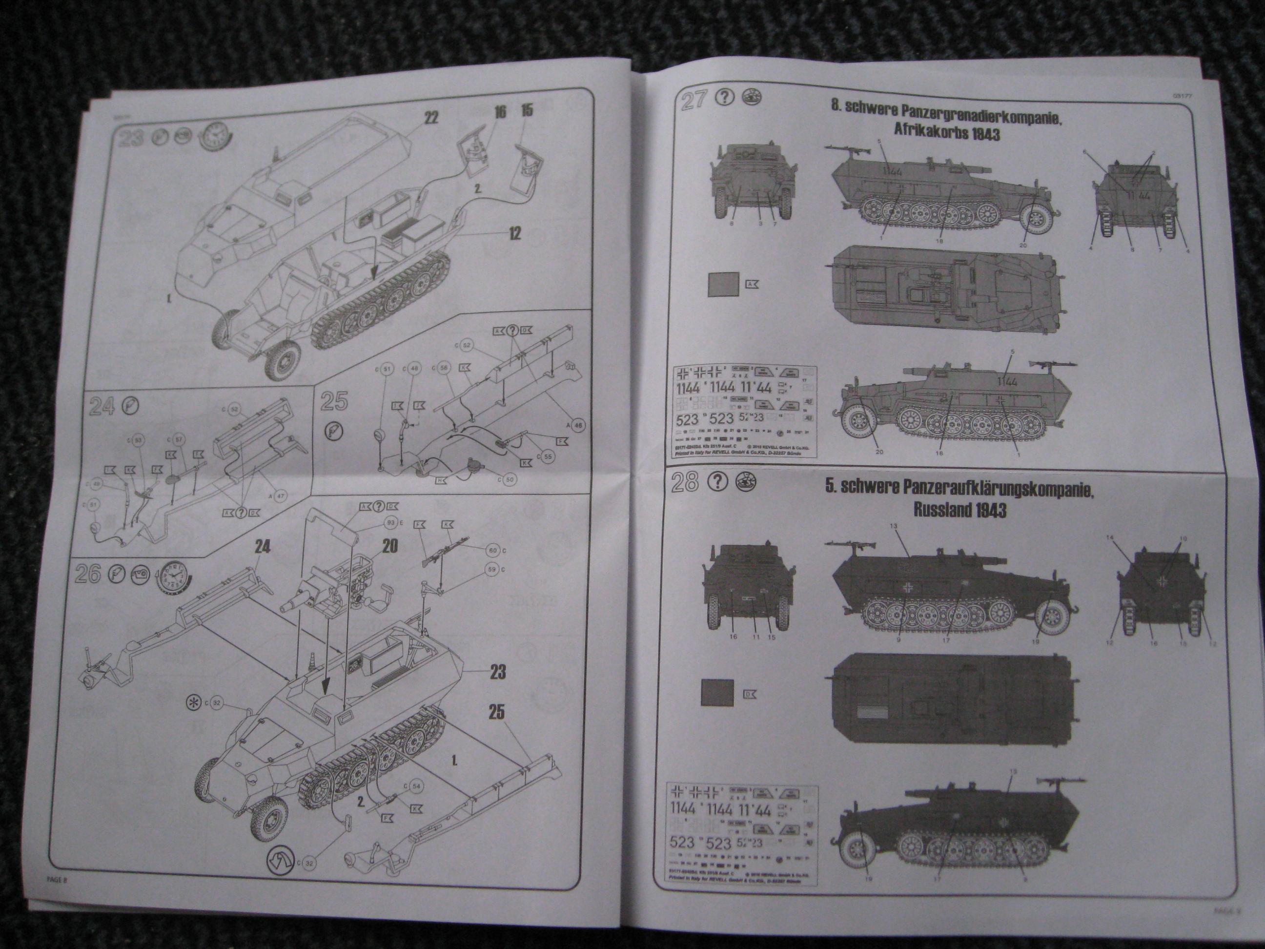 Sd. Kfz. 251/9 Revell Ka90-1l-9f61