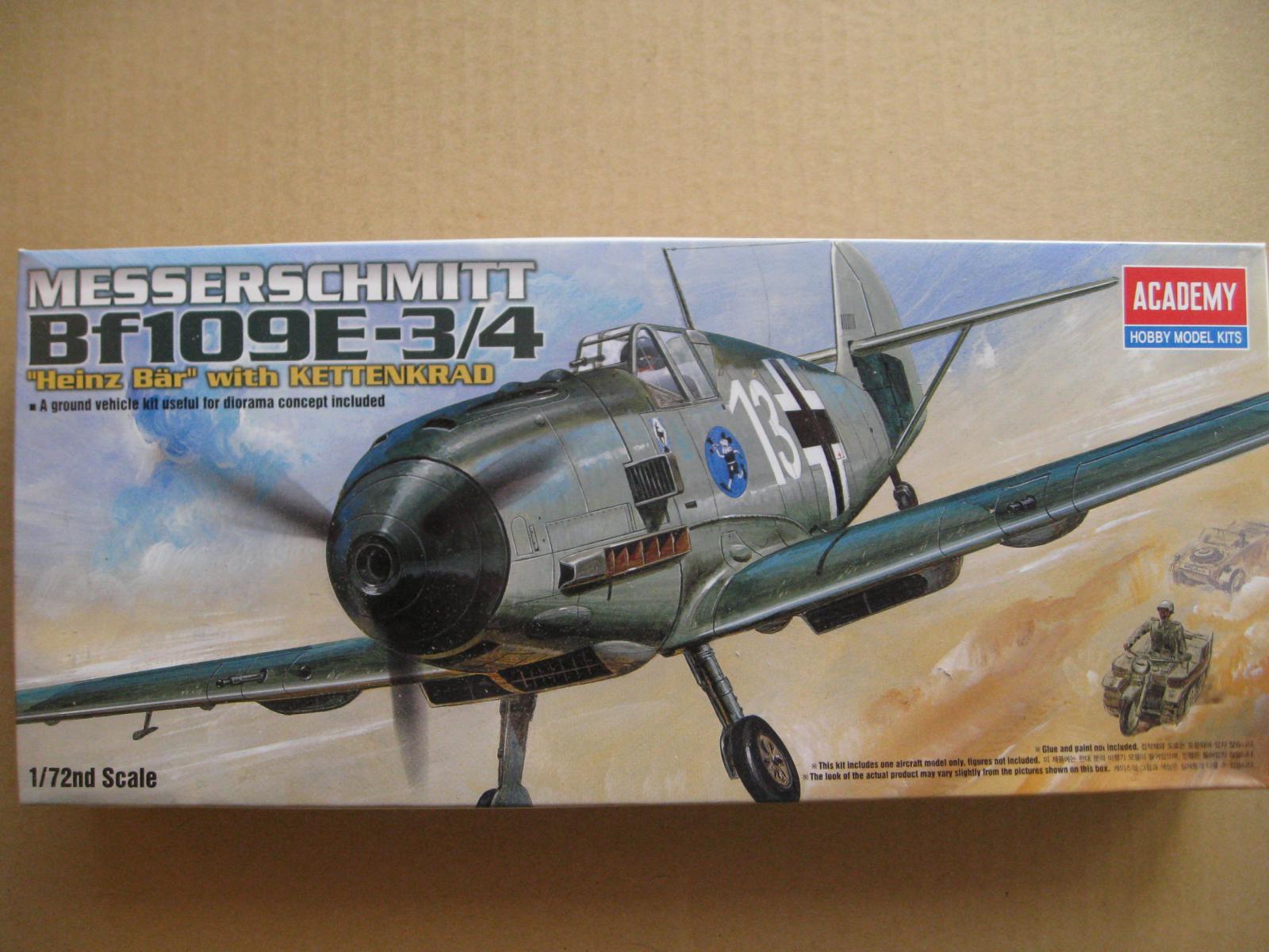 Messerschmit Bf 109 mir Sd.Kfz. 2 von Academy Kn1y-3u-7f1d