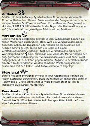 Schiffsmanöverübersichten und Referenzkarten Lin4-7q-7f10