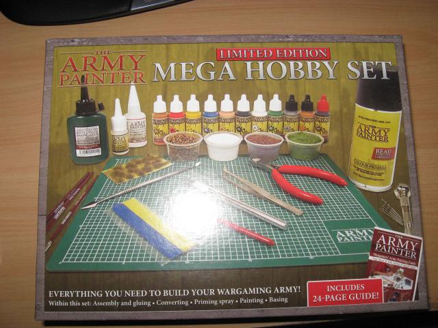 Army Painter Mega Hobby Set J2b6-1u-fc49