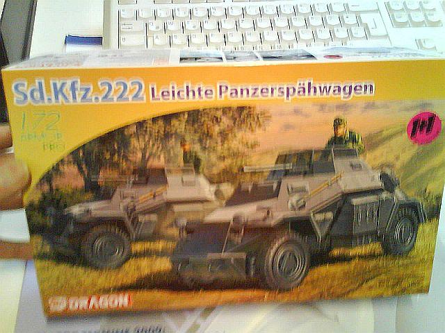 SdKfz 222 von Dragon K5o6-16-3416
