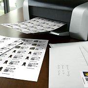 Briefmarken aus dem heimischen Drucker Wjx-41