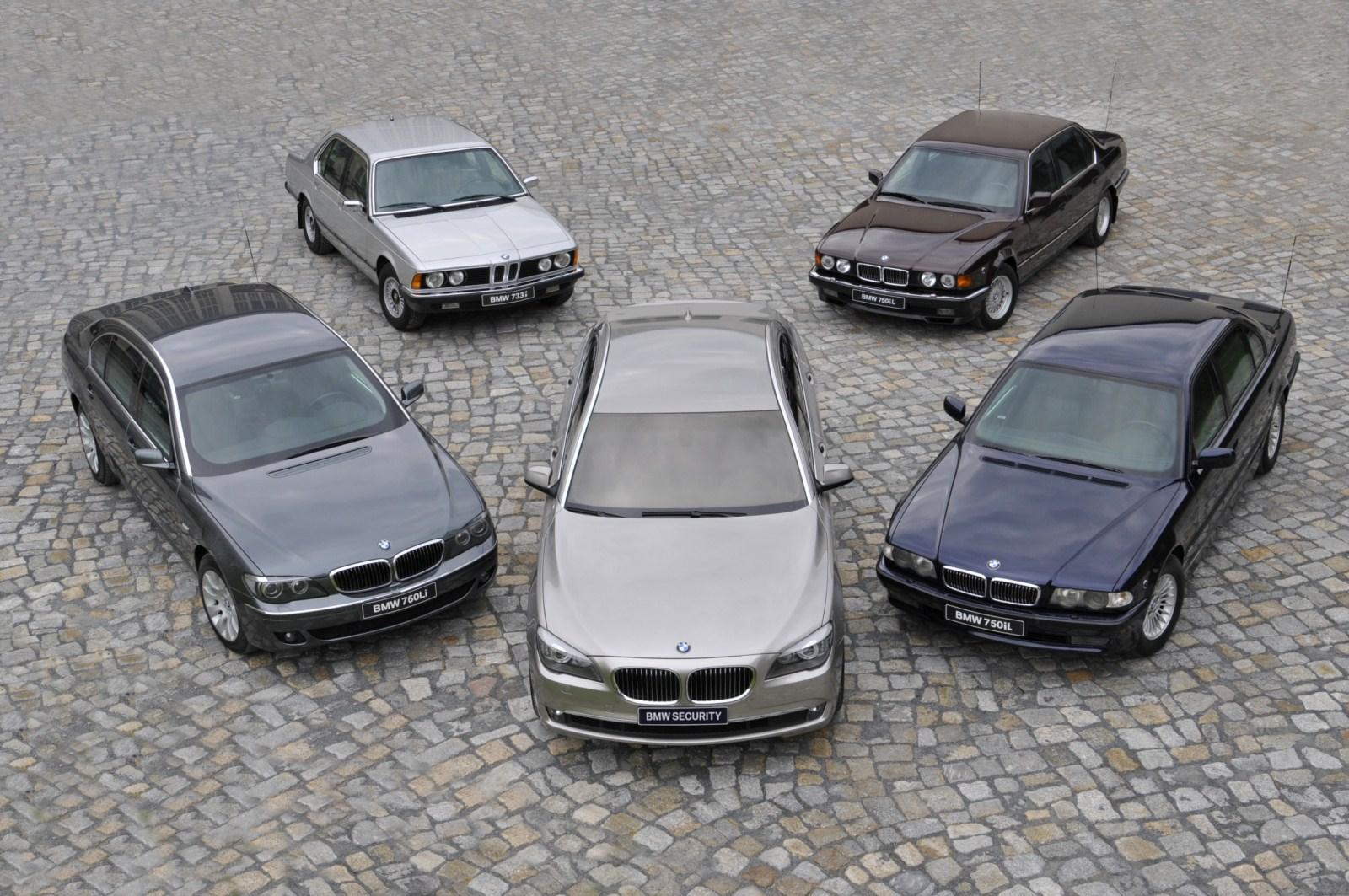 [Sujet officiel] Les Générations de modèles BMW-7er-Sicherheitsfahrzeuge-Geschichte