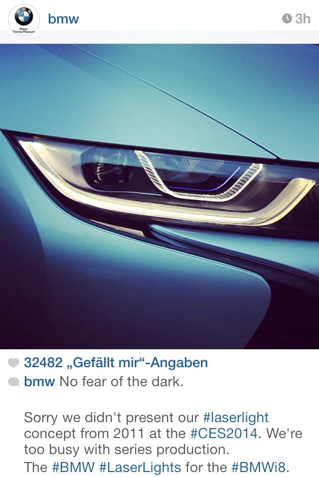 [Actualité] Groupe BMW - Page 15 BMW-Laser-Scheinwerfer-i8-vs-Audi-CES-2014-Werbe-Duell
