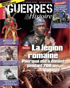 La légion romaine dans Guerres et Histoire n°6. Guerres-Histoire-61-239x300
