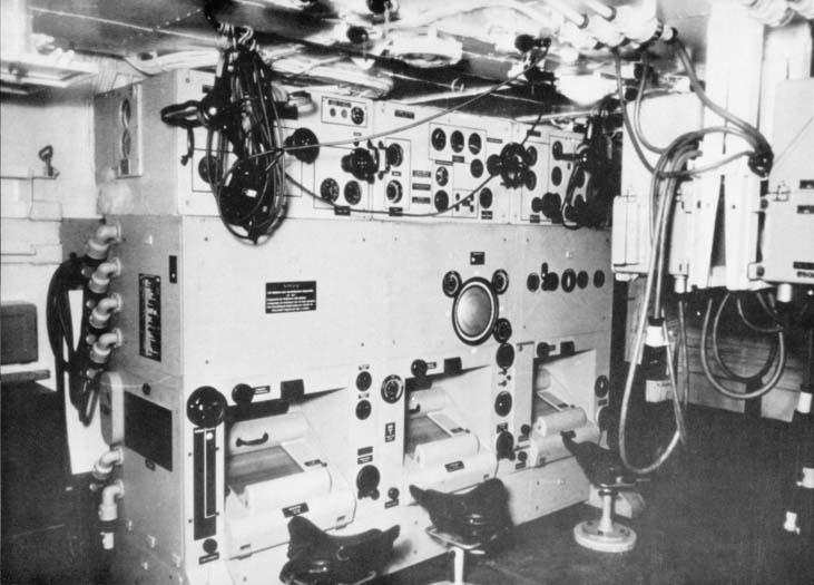 Cuirassé Bismarck au 1/200 - Trumpeter Gallbisminternalview01