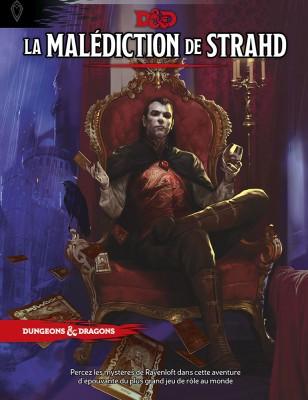 La malédiction de Strahd, une nouvelle campagne VF pour D&D5 8946