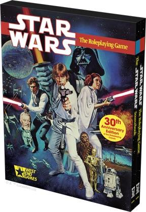 L'édition 30ème anniversaire de Star Wars D6 8233