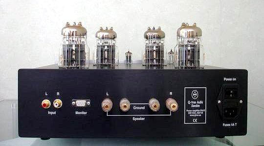 Q-tron PA-12 OTL Tube Amplifier (Stereo 2 x 25W) con transformadores toroidales. Basszilla Platinum Edition MK2, DIY. PA12B