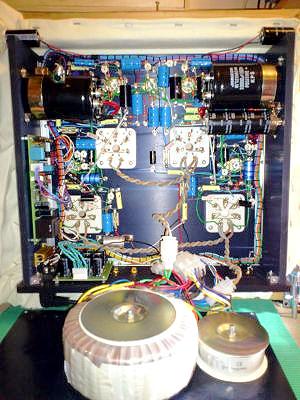 Q-tron PA-12 OTL Tube Amplifier (Stereo 2 x 25W) con transformadores toroidales. Basszilla Platinum Edition MK2, DIY. PA12C